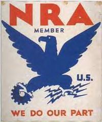 FDR's New Deal NRA poster was the inspiration for naming the Philadelphia franchise