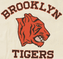 The awesome logo of the NFL Brooklyn Tigers (1944-1945)