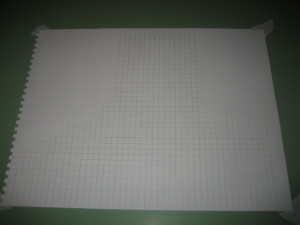...And duplicate the grid on your blank sheet of drawing paper