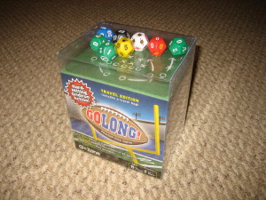GoLong! football die game, by Zobmondo
