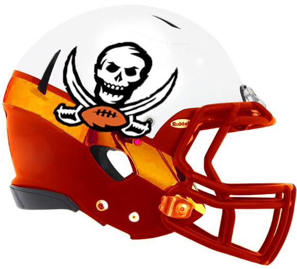 Bucs Helmet, Version 2