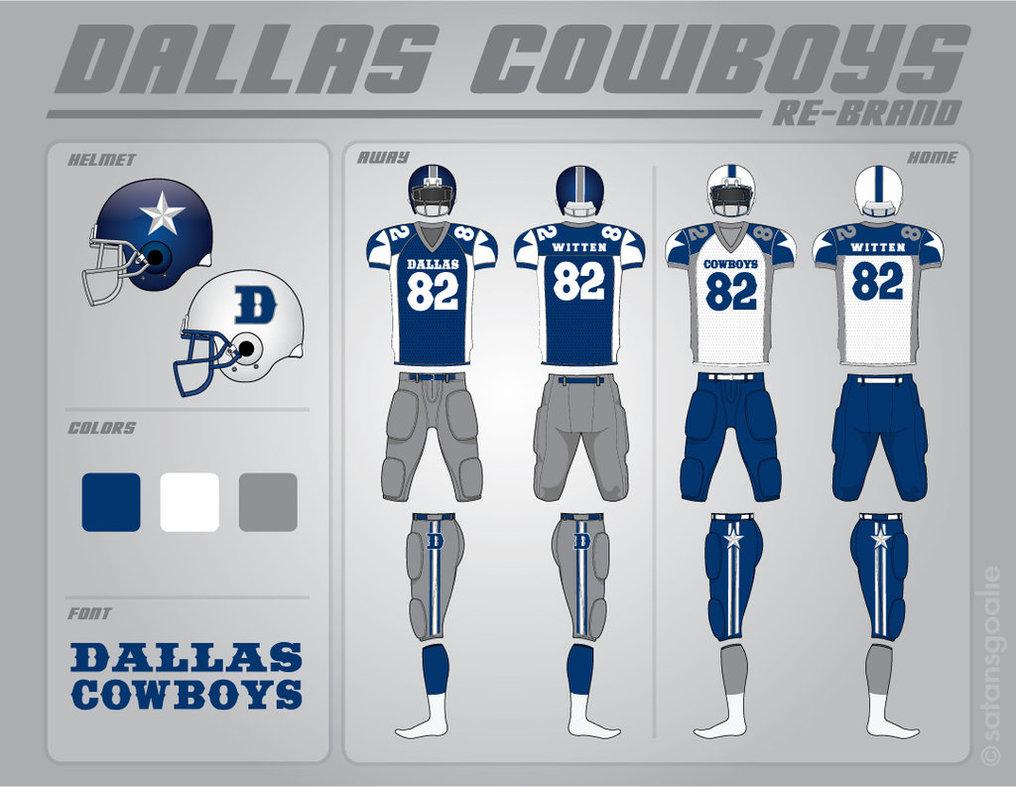 Cowboys Uniform, Version 1