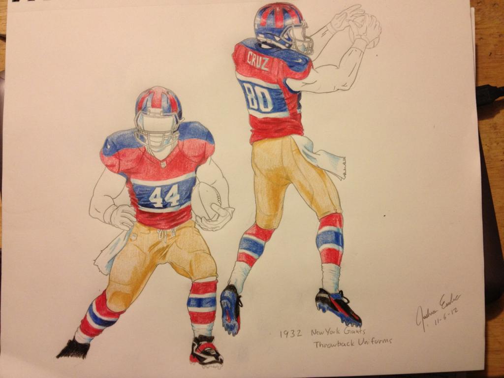 Giants Throwback Uniform