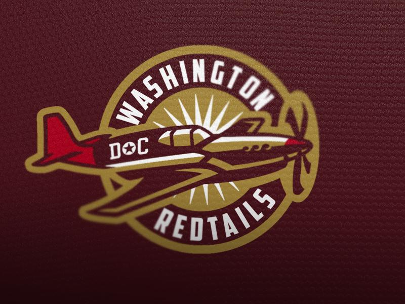 Washington Redtails Logo