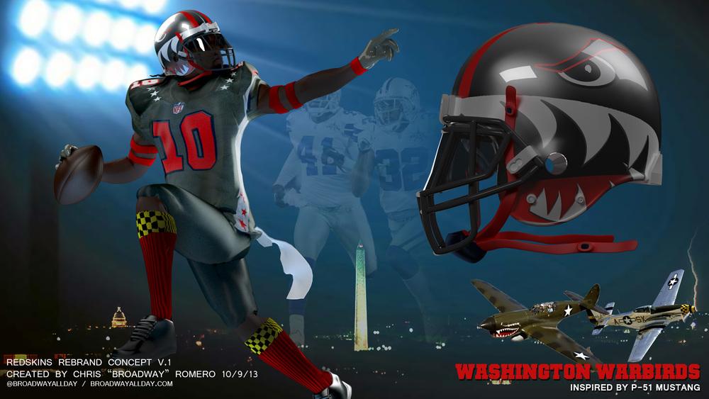 Washington Warbirds Helmet