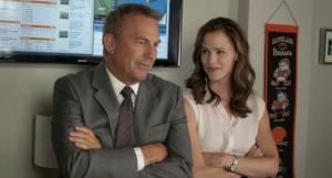 Kevin Costner and Jennifer Garner star in the 2014 movie Draft Day