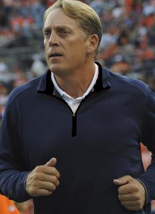 Del Rio posts fastest 40-yard dash of all Raiders head coach applicants