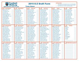2015_E-Z_Draft_Form