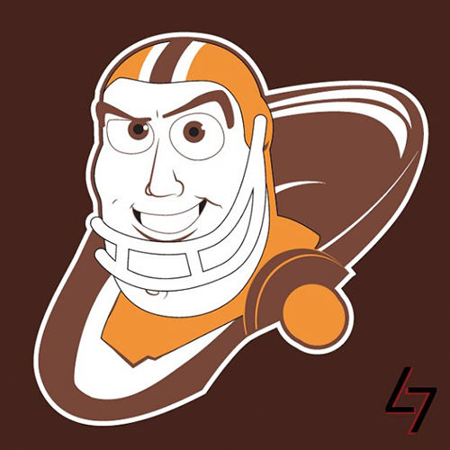 ak47_studios Disney x NFL series - Cleveland Browns Buzz