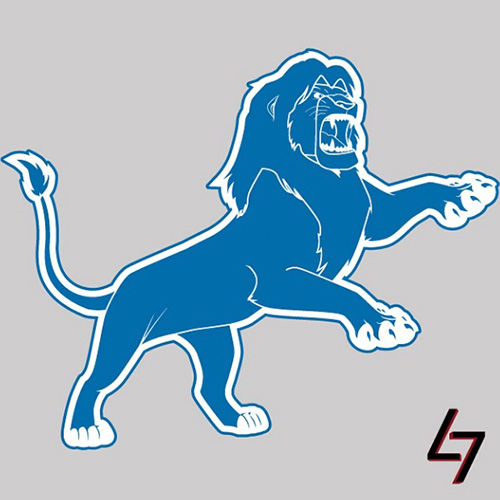 ak47_studios Disney x NFL series – Motor City Simba