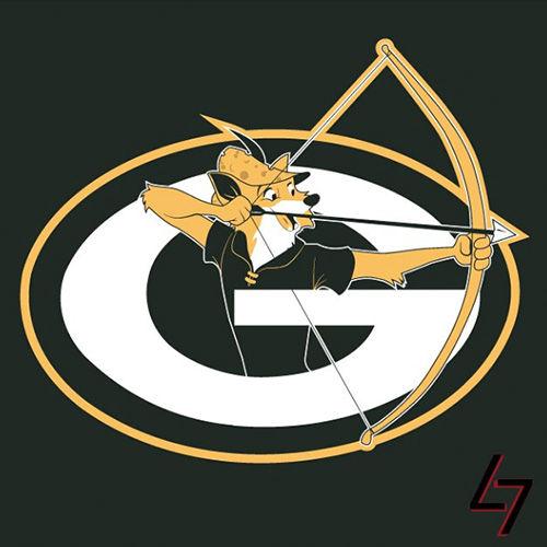 ak47_studios Disney x NFL series - Who knew Robin Hood was a Cheese Head
