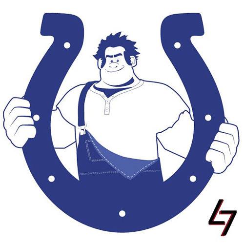 ak47_studios Disney x NFL series - Indianapolis Wreck-It Colts