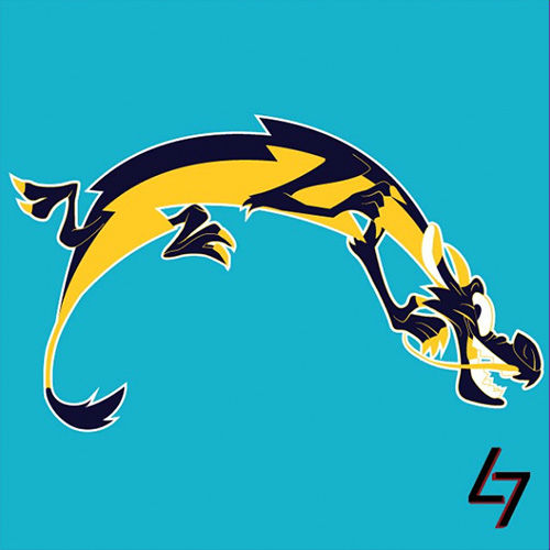 ak47_studios Disney x NFL series - San Diego Mushus