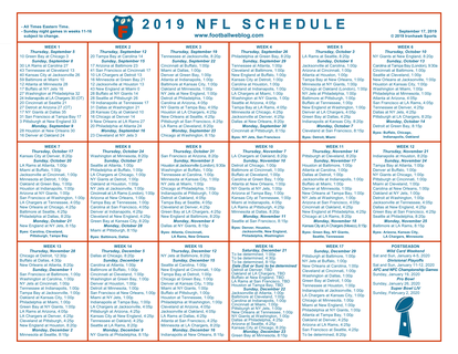photograph relating to Nfl Week 13 Printable Schedule called Myth Soccer Plans