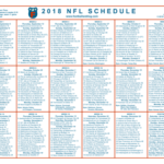 image relating to Printable Nfl Schedules known as printable agenda Soccer Website